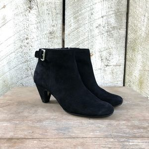 Sam Edelman | Morgan black suede ankle boots